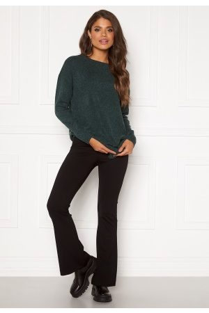Vero Moda Kamma NW Flared Jersey Pant Black L/32
