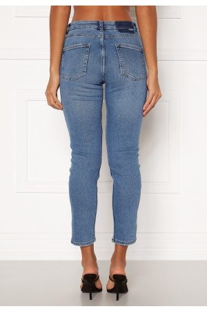 Only Erica Life Mid ST Ankle Jeans Light Blue Denim XL/32