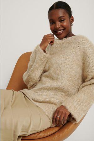 NA-KD Chunky Knit Melange Sweater