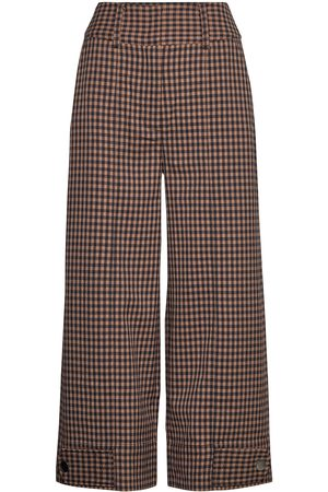 Second Female Branley Trousers Vide Bukser Brun