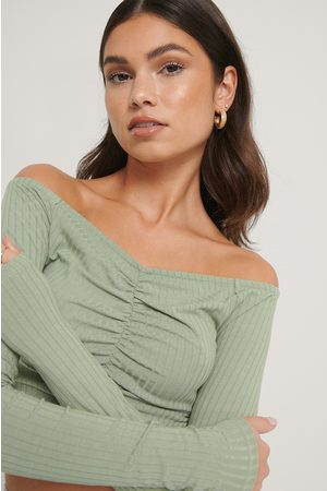 NA-KD Dame Off shoulder - Off Shoulder Rouched Top