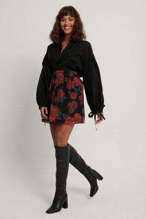 NA-KD Dame Miniskjørt - Mini Sheer Skirt