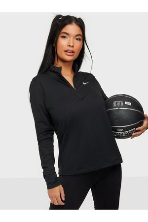 Nike Dame Gensere - W Nk Element Top Hz Black