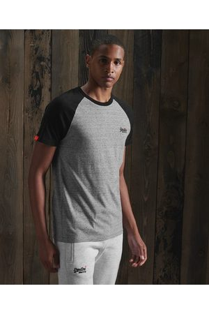 Superdry Orange Label Baseball-T-skjorte med korte ermer