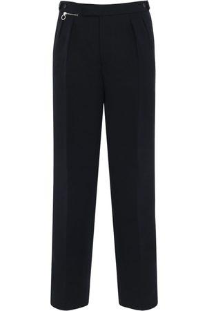 RAF SIMONS Ceremonial Wide Leg Wool Pants