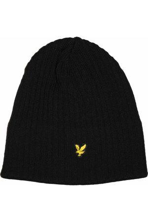 Lyle & Scott Knitted Rib Beanie Hat