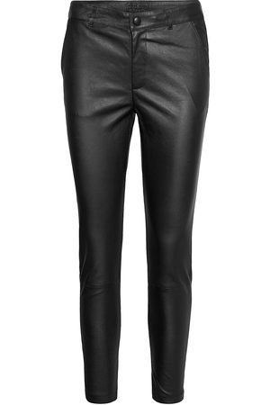 DEPECHE Stretch Pant 7/8 Length Leather Leggings/Bukser