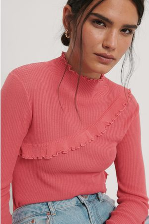 NA-KD Babylock Detail Knitted Sweater