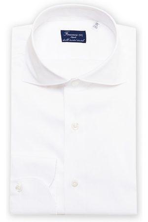 Finamore Napoli Milano Slim Fit Stretch Shirt White