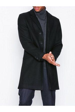 Only & Sons Onsjulian Solid Wool Coat Otw Noos Jakker Svart