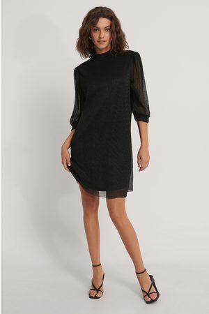 NA-KD Shiny Straight Dress