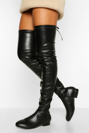 Boohoo Wider Calf Over The Knee Boot