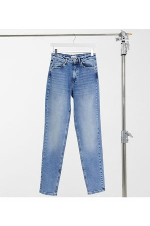 Only Dame High waist - Veneda mom Jean in blue