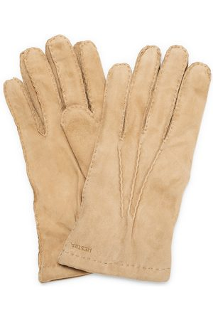 Hestra Arthur Wool Lined Suede Glove Camel