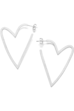 Claudia Navarro Jewelry Hoops Corazon