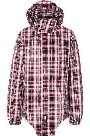 Burberry Herre Parkas - Check-print parka jacket