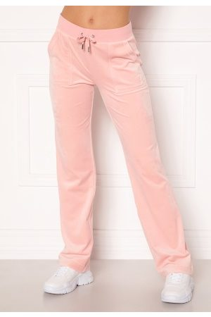 Juicy Couture Del Ray Classic Velour Pant Pale Pink XL