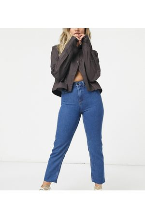 Noisy May Dame Straight - Straight leg jeans in authentic dark blue wash