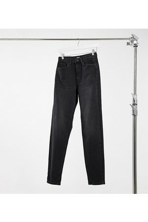 Only Veneda mom jeans in washed black