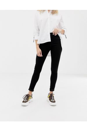 Only Royal high waist skinny jean in black
