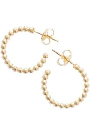 Claudia Navarro Jewelry Hoops Dots