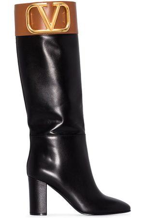 VALENTINO GARAVANI Super V 85mm knee-high boots