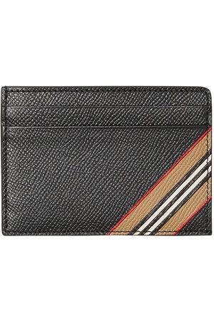 Burberry Herre Lommebøker - Icon-stripe grained cardholder
