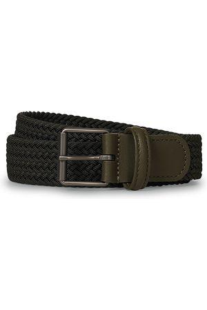 Anderson's Elastic Woven 3 cm Belt Military Green