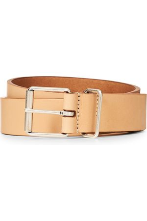 Anderson's Classic Casual 3 cm Leather Belt Natural