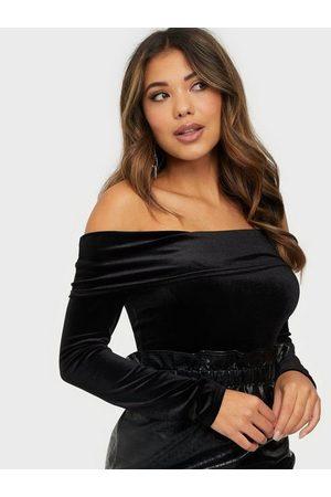 NLY One Dame Body - Fold Over Velvet Body