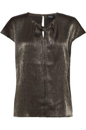 Soaked in Luxury Dame Kortermede - Slminaj Top Blouses Short-sleeved