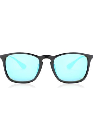 Ray-Ban Herre Solbriller - Solbriller RB4187F Chris Asian Fit 601/55