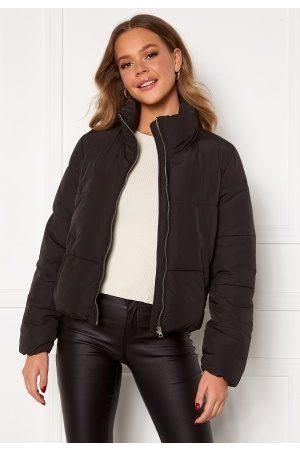JACQUELINE DE YONG NewErica Padded Jacket Black Silver zipper XL