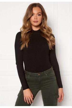JACQUELINE DE YONG Newmaryan L/S Highneck Pullover Knit Black M