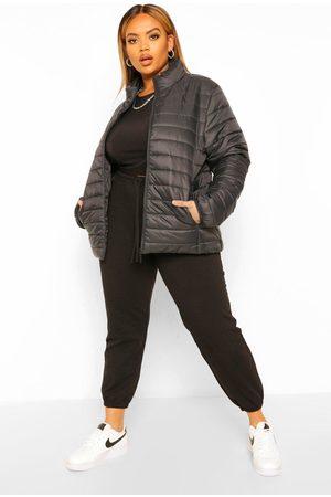 Boohoo Plus Basic Puffer Coat