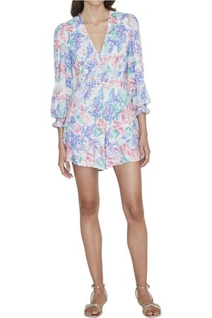 FAITHFULL THE BRAND Madea Playsuit - Ondine Floral Print
