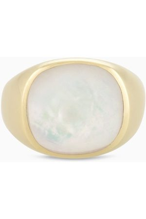 PapayaOslo Golden Signet Mother Of Pearl