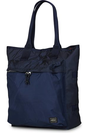 PORTER-YOSHIDA & CO Force Tote Bag Navy Blue