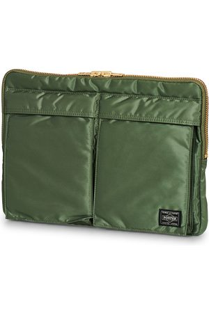 PORTER-YOSHIDA & CO Tanker Document Case Sage Green