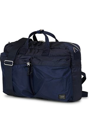 PORTER-YOSHIDA & CO Herre Porteføljer - Force 3Way Briefcase Navy Blue