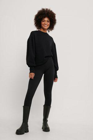 NA-KD Dame Sweatshirts - Puff Shoulder Sweatshirt