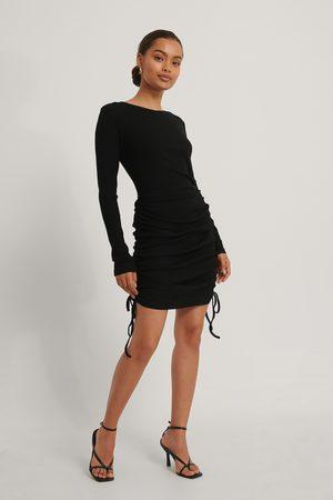 NA-KD Mini Drawstring Dress