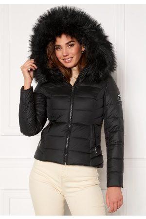 ROCKANDBLUE Dame Pelsjakker - Chill Jacket Black/Black 38