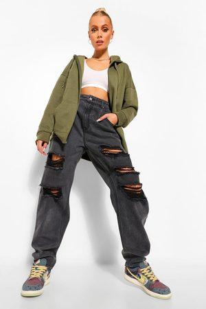 Boohoo Basic Zip Through Hoody