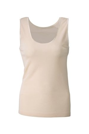 Damella Wool And Silk Tank Top