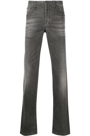 Gucci Herre Straight - Distressed straight-leg jeans