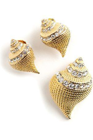 Kenneth Jay Lane Shell jewelry set