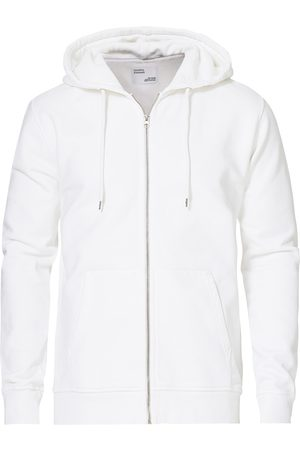 Colorful Standard Classic Organic Full Zip Hood Optical White