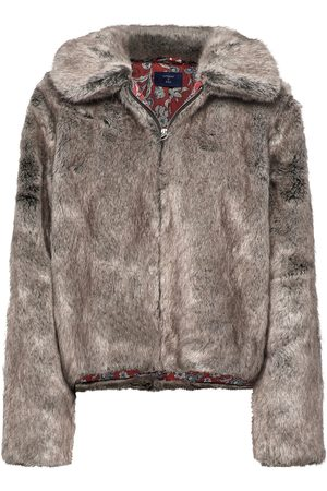 Superdry Boho Faux Fur Jacket Outerwear Faux Fur Lilla