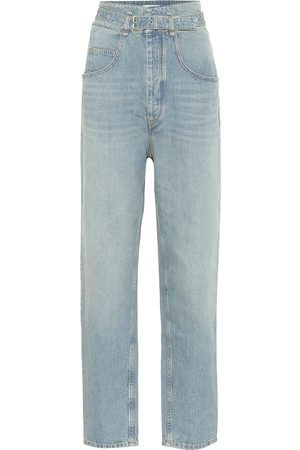 Isabel Marant Gloria high-rise straight jeans